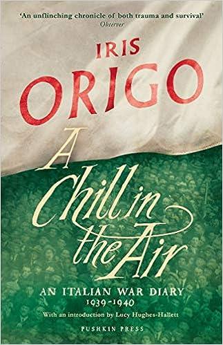 A Chill In The Air: Amazon.es: Iris Origo: Libros en idiomas ...