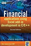img - for Financial Applications using Excel Add-in Development in C / C++ book / textbook / text book