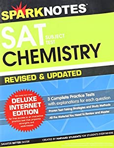 SAT Subject Test: Chemistry book by SparkNotes