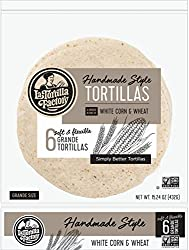 La Tortilla Factory Corn White Grande, 15.24 Oz