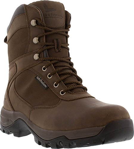Field & Stream Men's Woodsman 800g Hunting Boots (Brown, 9.5 D(M) US)