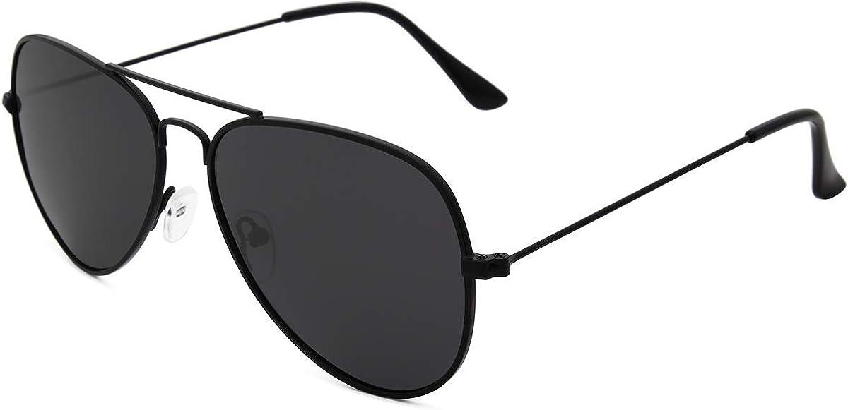Livhò Sunglasses for Men Women Aviator Polarized Metal Mirror UV 400 Lens Protection: Shoes