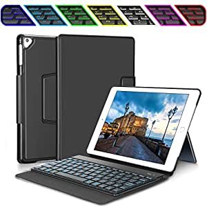 ipad keyboard case for new 2018 ipad 2017 ipad ipad pro 9 7 ipad air 1 and 2. Black Bedroom Furniture Sets. Home Design Ideas