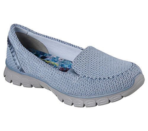 5 5 Skechers US7 EU37 5 UK4 BLU 23426 XwnO17nzf