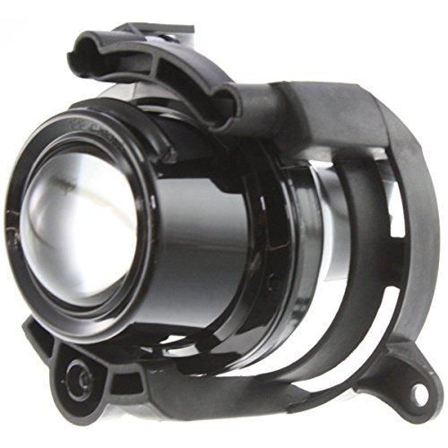 malibu driver fog light clear - 5