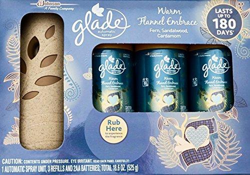 Glade Warm Flannel Embrace, Automatic Spray & 3 Refills