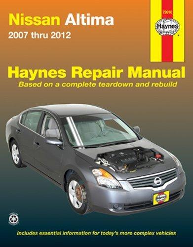 amazon com haynes repair manuals 72016 nissan altima 07 10 automotive rh amazon com 2005 Nissan Altima Shop Manual nissan altima haynes repair manual pdf