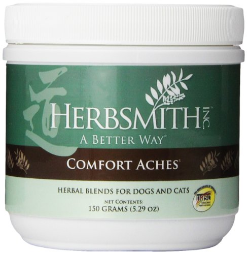 Chinese Herbal Blends (Herbsmith Comfort Ache Herbal Blend for Dogs and Cats, 150 grams)
