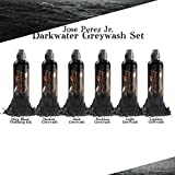 Jose Perez Jr. Dark Water Shading 6 Bottle Set - World Famous Tattoo Ink - 4oz