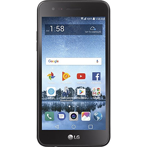 Simple Mobile LG Rebel 3 4G LTE Prepaid Smartphone