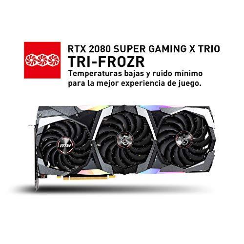 Msi Rtx 2080 Super Gaming X Trio Vga 8gb Gddr6 Hdmi 3dp Usb C 2s