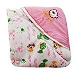 My Newborn Baby Fleece Hooded Blanket, Pink (Pack of 3)