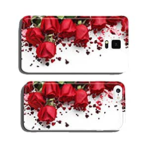 Red roses and heart shape ornaments cell phone cover case iPhone6 Plus