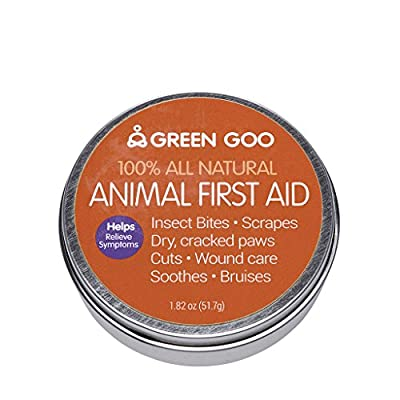 Green Goo Animal First Aid Large Tin 1.82 Ounce by GreenGoo -- Dropship