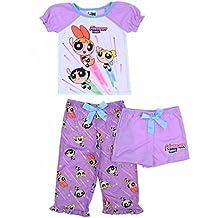 The Powerpuff Girls 3 Piece Sleepwear Pajama Set for Girls