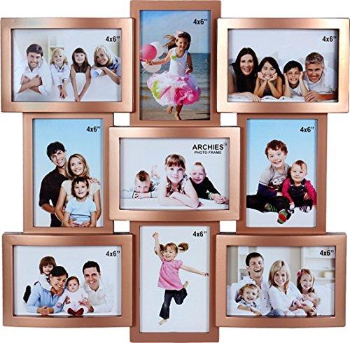 buy jaipurcrafts premium collage photo frame photo size 4 x 6 9 photos online at low prices in india amazonin