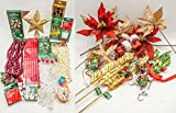 JZ Bundles Large Set - Best of Christmas Decorations - Kurt Adler - 58-Piece Bundle - A Bundle of Christmas Ornaments Great Gift