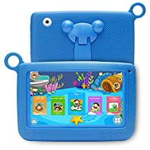NPOLE Kids Tablet 7 Inch Android 1280x800 IPS Display with Parental Control - iWawa Wifi Camera 3D Game HD Video Supported(Blue)