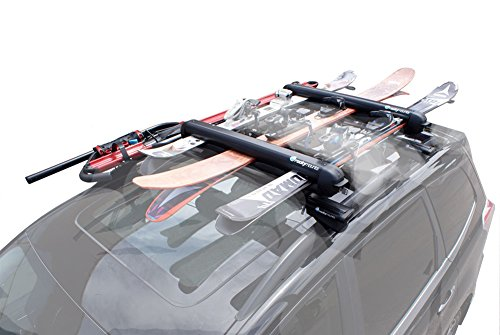 RockyMounts LiftOp Ski & Snowboard Roof Rack Black, L by Rocky Mountain