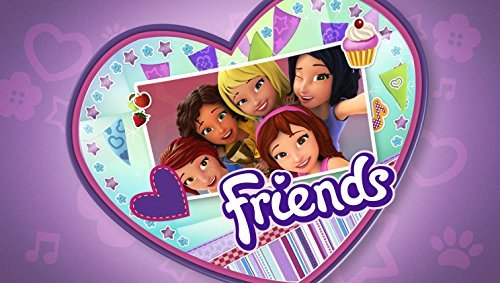 Lego Friends Edible Image Photo Birthday Party Event 1/4 Quarter Sheet Cake Topper Personalized Custom Customized -