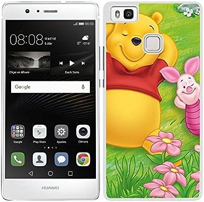 FUNDA CARCASA PARA Huawei P9 Lite DISEÑO WINNIE THE POOH BORDE ...