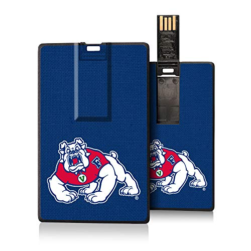 Keyscaper KUCC16-0FRS-SOLID1 Fresno State Bulldogs Credit Card USB Drive with FS Solid Design (Apple One Fresno)