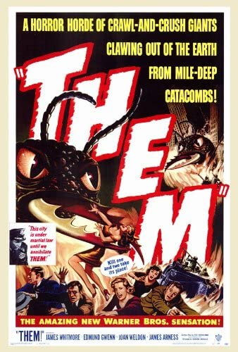 Amazon.com: Them! - 1954 - 27 x 40 Movie Poster - Style A: Prints: Posters  & Prints