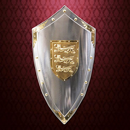 Lionheart Shield Steel Full Size Decorative Armor by Museum Replicas
