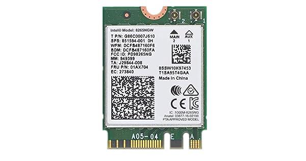 Amazon.com: Dual Band Wireless- AC 8265 8265AC NGFF WiFi ...