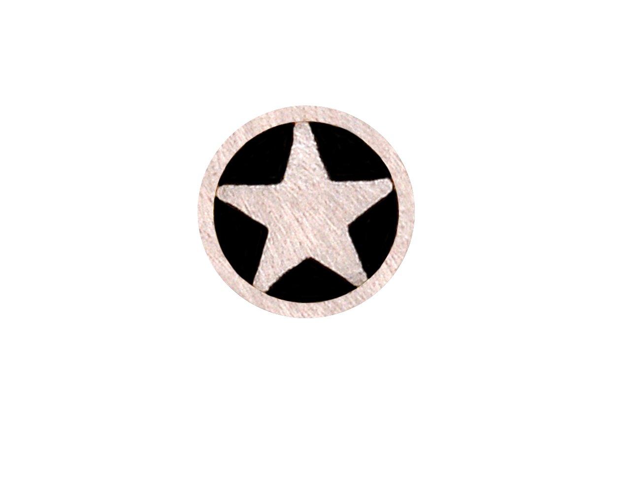 3/16'' Diameter Aluminum Star Mosaic Pin (11-3/4'' Long)