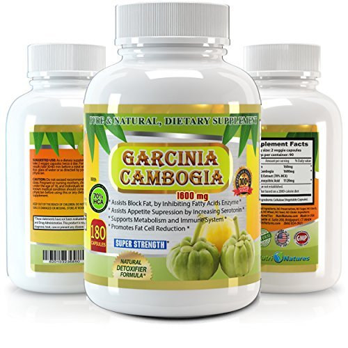 Garcinia Cambogia Pure Extract 1600mg product image