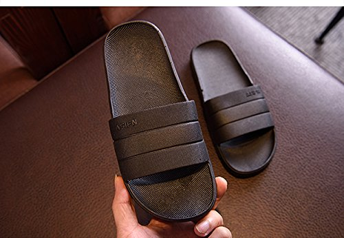 Bain Pantoufle pour Intérieur Usage Noir Convient Les Antidérapante Et Les APIKA Femmes Accueil De pour Hommes Sandale xUpww