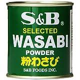 S&B Wasabi Powder, 1.06-Ounce by JFC International Inc.