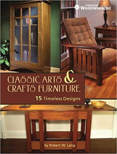 Classic Arts and Crafts Furniture: 14 Timeless Designs (Popular  Woodworking): Robert W. Lang: 0035313657610: Amazon.com: Books