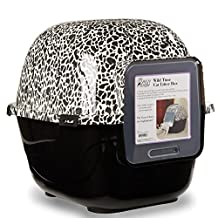 Savvy Tabby Wild Time Cat Litter Boxes — Covered Litter Boxes for Cat Litter, 2-Packs