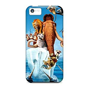 Special Design Back Ice Age 4 Continental Drift Movie Phone Cases Covers For Iphone 5c