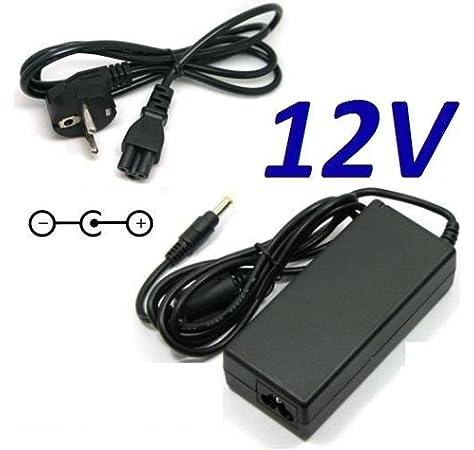 CARGADOR ESP ® Cargador Corriente 12V Compatible con Reemplazo SUPRATECH Supravision TESEO S-2002DVT Recambio Replacement: Amazon.es: Electrónica