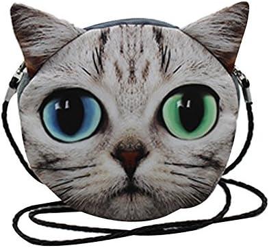 [해외]Cute 3D Prints Plush SatchelCat / Cute 3D Prints Plush Satchel,Cat