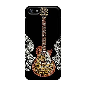 [QFV18147Laud]premium Phone Cases For Iphone 5/5s/ Awesome Guitar Cases Covers