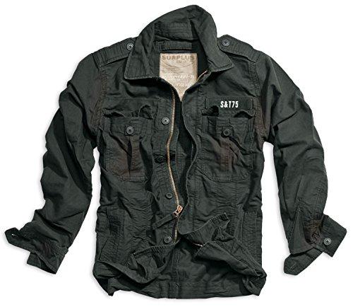 Trooper - Jacket Heritage Vintage - S, Noir