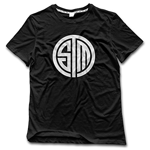 2016 LCS Summer Champions TSM Team SoloMid T Shirts For Men Black XL