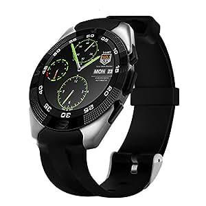 LUFA NO.1 G5 Bluetooth Smart Watch LED de visualización de la luz con monitor de ritmo cardíaco para Android e IOS Watchphone