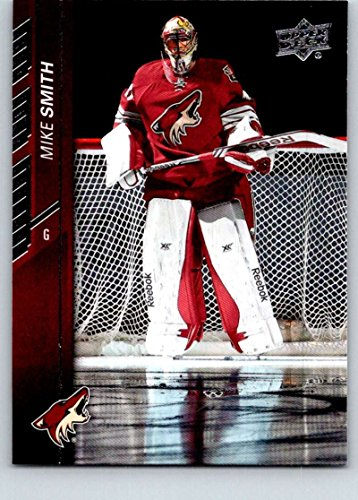 2015-16 Upper Deck Hockey Series 1#10 Mike Smith Arizona Coyotes Official NHL UD Trading Card]()