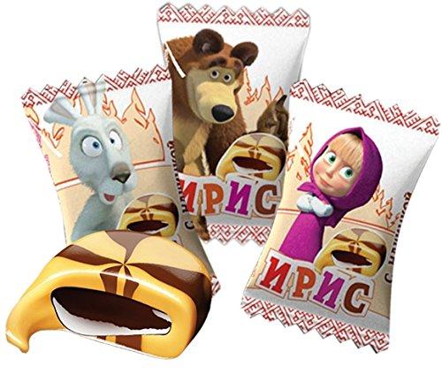 20 psc Masha y el oso sabor de chocolate toffee masticar ...