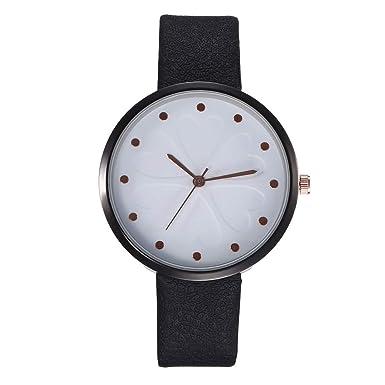 Modaworld Relojes creativos en Relieve de Lucky Grass para ...
