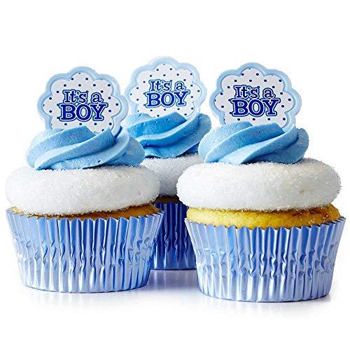 (24) Cakegirls Boy Baby Shower Cupcake Kit -
