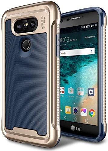 LG G5 Case, E LV LG G5 - Hybrid [Scratch/Dust Proof] Armor Defender Slim Shock-Absorption Bumper Case for LG G5 - [DARK - Tone Color Two Skin