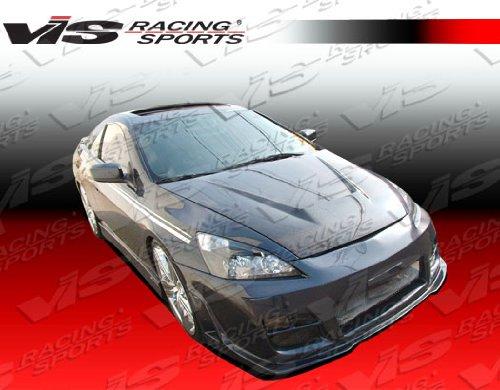 VIS Racing (VIS-BUP-005) Black Carbon Fiber Hood Invader Style for Honda Accord 2DR 03-07