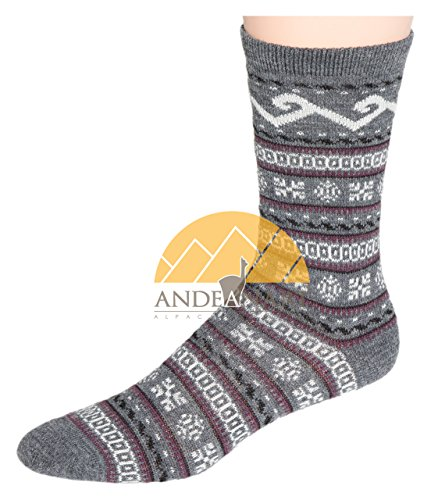 Dress SMART ALPACA SOCKS - Luxurious All Weather Protection and Cozy Comfort