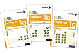 img - for Numicon: Number, Pattern and Calculating 1 Explorer Progress Books ABC (Mixed pack) book / textbook / text book